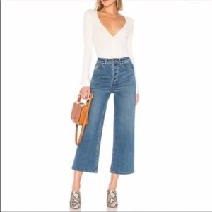 Free People Wales High Rise Wide Leg Jeans 26